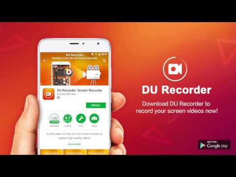 DU Recorder - Best Screen Recorder App For Android With