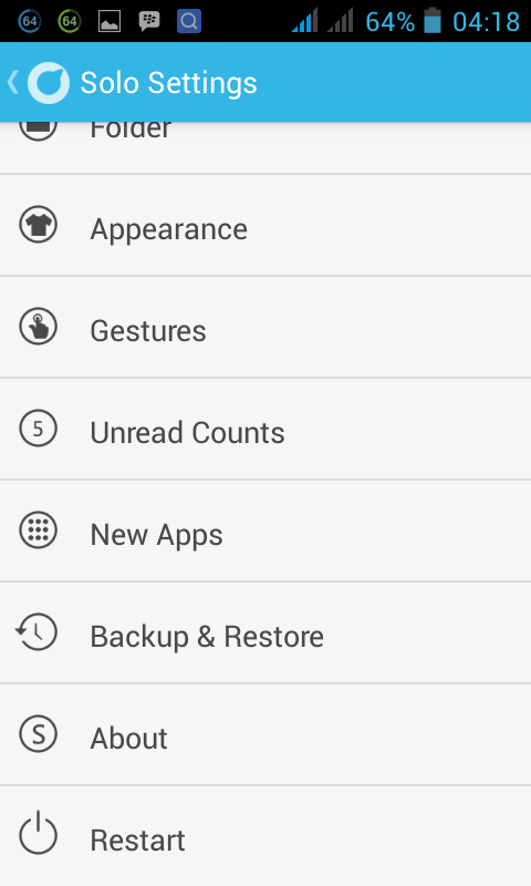 Solo_Android_Settings